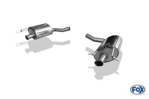 Глушители FOX для Mercedes C180 C200 W205