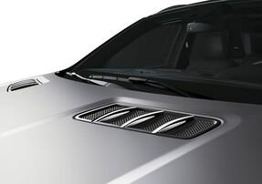 Хромированные накладки на капот для Mercedes ML/GL/GL/GLE
