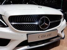 Решетка Diamond для нового Mercedes C-Class W205