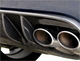 Карбоновый диффузор Piecha Design для Mercedes SLK R171 с 05/08