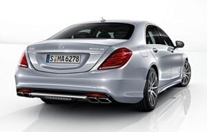 Задний бампер S63 AMG для Mercedes S-Class W222