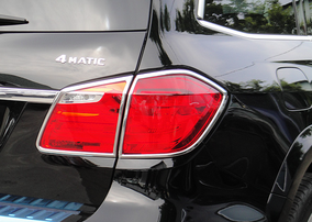 Хромированные накладки на фонари Schatz для Mercedes GL X166