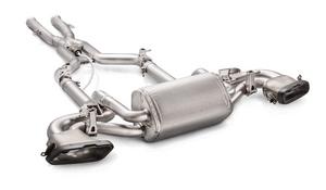 Система выхлопа Akrapovic для Mercedes AMG GTS