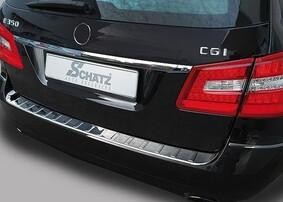 Защитная накладка на задний бампер Schatz для Mercedes E-Class S212