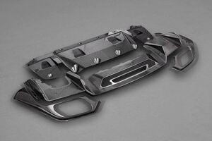 Карбоновый диффузор Capristo для Mercedes AMG GT, GTS