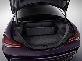 Поддон в багажник для Mercedes CLA C117