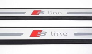 Накладки на пороги S-Line для Audi A3 8V