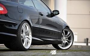 Пороги Prior Design для Mercedes CLK C209