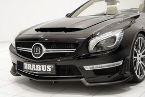 Карбоновая накладка под бампер Brabus для Mercedes SL63 AMG R231