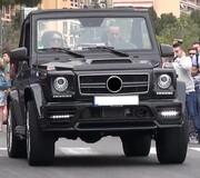 Фары Mansory для Mercedes G-Class