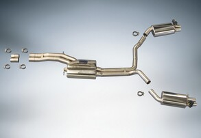 Выхлопная система ABT для Audi RS6 4G и RS7 4G
