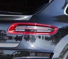 Карбоновые накладки на фонари Mansory для Porsche Macan