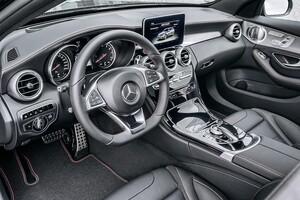 Накладки на педали AMG для Mercedes GLC X253