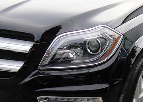 Хромированные накладки на фары Schatz для Mercedes GL X166