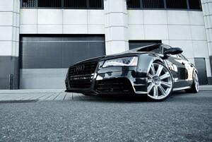 Передний бампер Hofele для Audi A8 4H