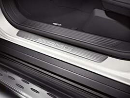 Накладки на пороги AMG для Mercedes GL X166 и ML W166