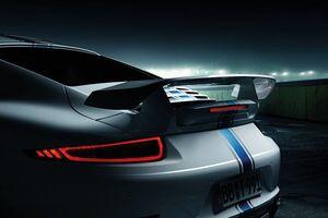 Задний спойлер II Techart для Porsche 991.2