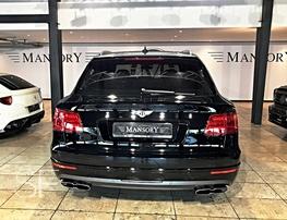 Рамка номерной ниши Blackline для Bentley Bentayga