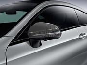 Накладки на зеркала под карбон для Mercedes