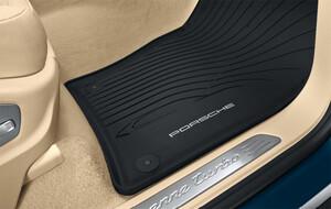 Резиновые коврики для Porsche Cayenne E3