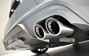 Задний диффузор Brabus для Mercedes SL R231
