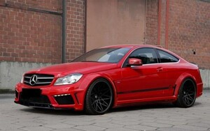 Обвес Prior Design Black Edition Widebody для Mercedes C-Class Coupe C204