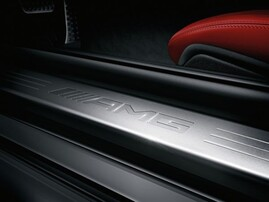 Накладки на пороги AMG для Mercedes SLK R172