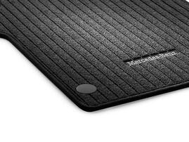 Передние репсовые коврики для Mercedes GLC
