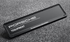 Номерные рамки Porsche