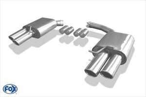 Глушители FOX для Audi A4 A5 B8 3.0 TDI