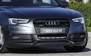 Накладка переднего бампера Rieger для Audi A5 B8 FL