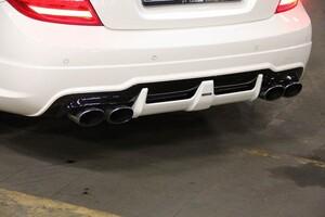 Глушители Carlsson для Mercedes C-Class W204