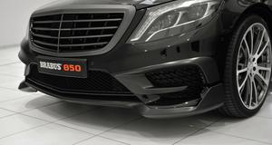 Накладка переднего бампера Brabus для Mercedes S-Class