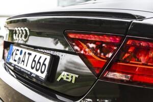 Карбоновый спойлер ABT для Audi A7 4G