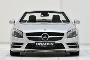 Накладка на передний бампер Brabus для Mercedes SL R231