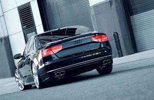 Накладка заднего бампера Hofele для Audi A8 4H