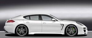 Пороги Caractere для Porsche Panamera