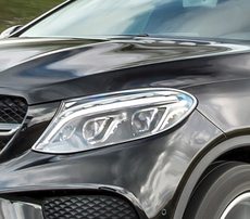 Хромированные накладки на фары Schatz для Mercedes GLE Coupe