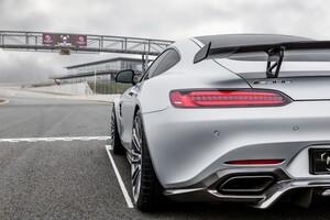 Карбоновый диффузор Luethen Motorsport для Mercedes AMG GT
