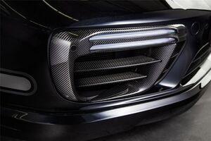 Комплект планок Techart в воздуховоды переднего бампера Porsche 991 Turbo/Turbo S