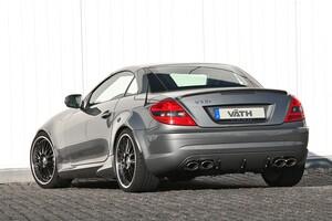 Спойлер на крышку багажника Schatz для Mercedes SLK R171