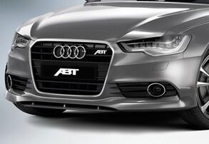 Накладка бампера ABT для Audi A6 4G