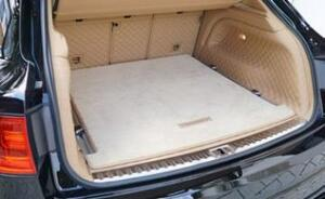 Велюровый коврик в багажник Mansory для Bentley Bentayga