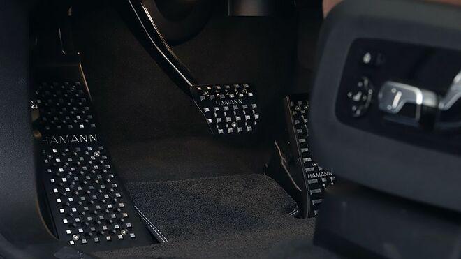 Накладка под ногу для BMW X5 G05