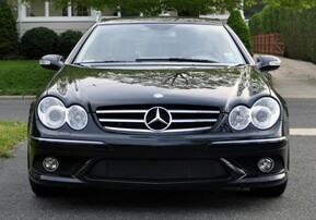 Передний бампер AMG для Mercedes CLK C209