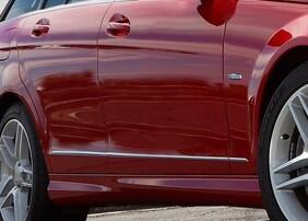 Хромированные накладки на двери Schatz для Mercedes C-Class W204