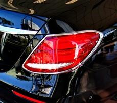 Хром накладки на фонари Schatz для Mercedes W213