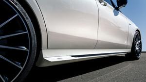 Накладки на пороги Piecha для Mercedes W213
