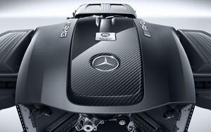 Карбоновая крышка двигателя для Mercedes AMG GT