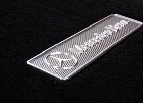 Велюровые коврики для Mercedes CLK С209